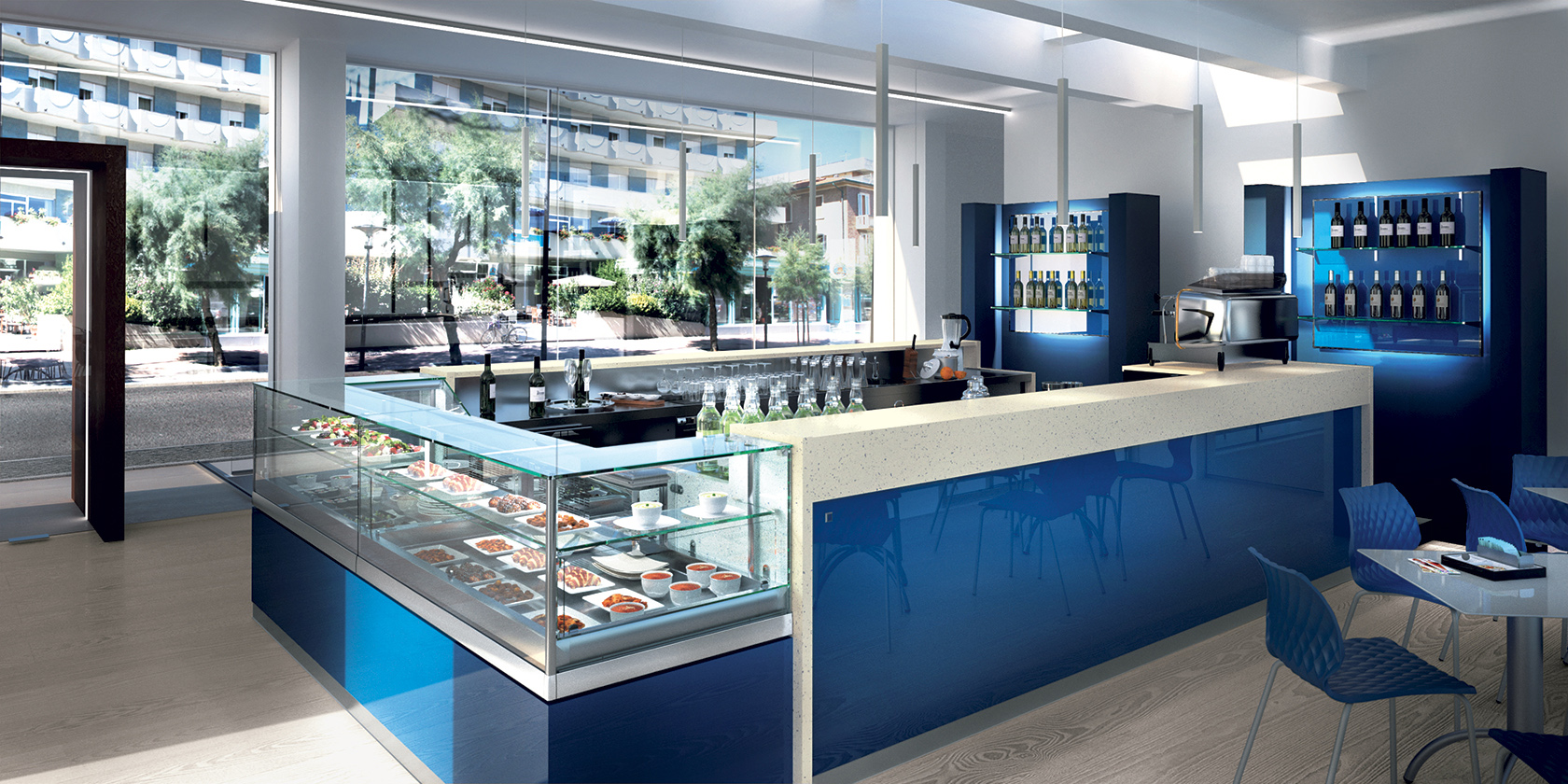 31 arredo design gelateria bar pasticceria new concept
