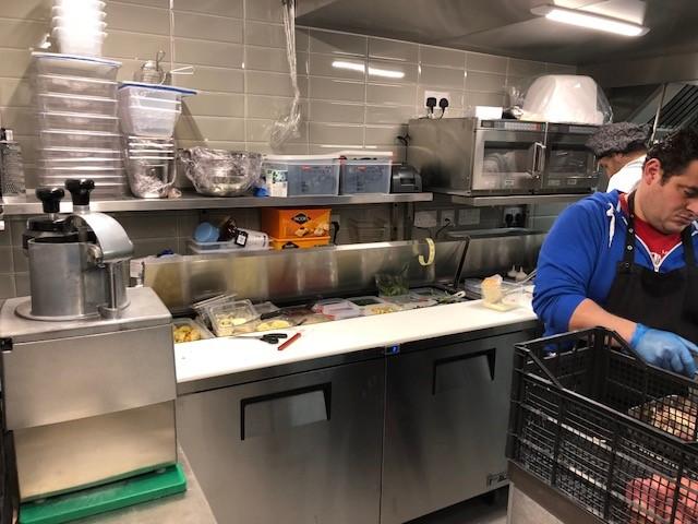 Boun Apps kitchen work station