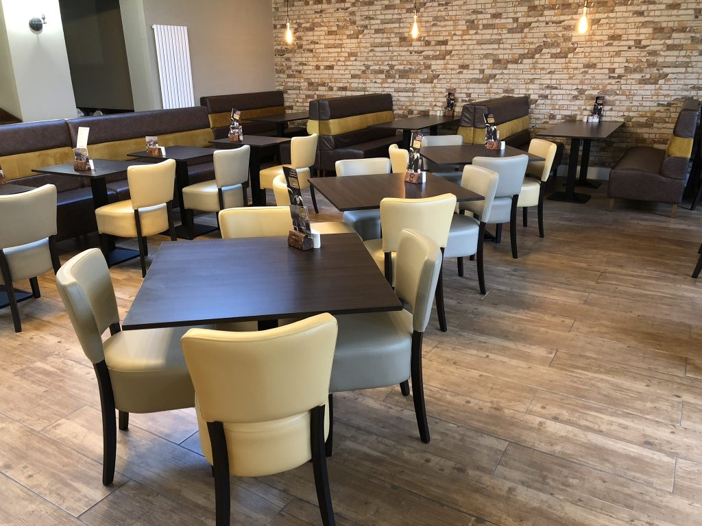 Santa Marina additional seating area