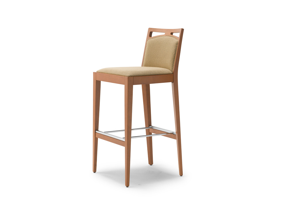 Tall Bar chair, light brown colour